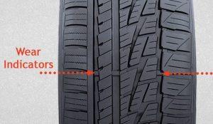 Bumps between tire treads