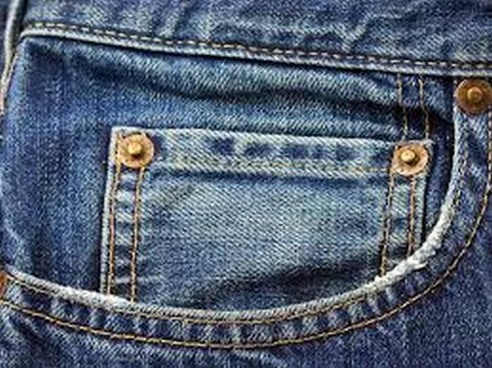 Small pockets on jeans