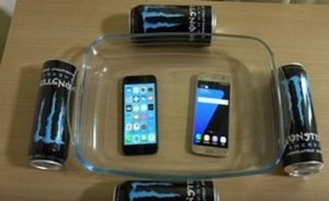 Drowning smartphones with fun
