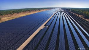 Solar energy as an engine of progress