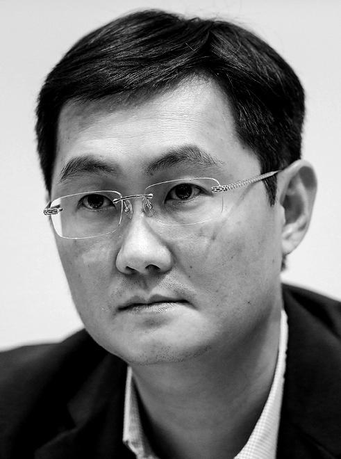 Ma Huateng - $23.1 billion, Internet services