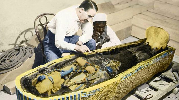 Burial site KV62
