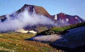 Volcano Azhdahak – Ancient Armenia