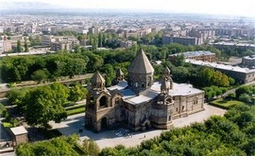 Separation of Georgian and Armenian Churches