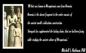 Armenia, the Source of Mesopotamian Knowledge