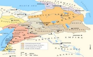 Ptolemy on the Location of the Armenia