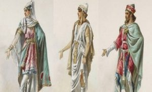 Eugène Lacoste's Sketches of Ancient Armenian Costumes