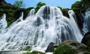 The Shaki Waterfall and Its Legend