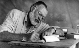 "Ernest Hemingway – Excerpts from the ""Black Book"""