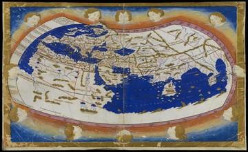 Claudius Ptolemy's World Map