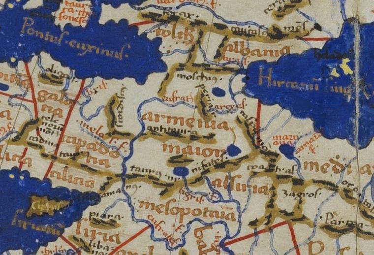 Claudius Ptolemy S World Map Art A Tsolum