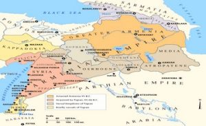 The Great Armenia in 40 - 23 Millennia BC