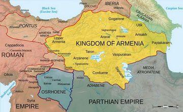 Armenia Minor - Komagena - Tsopk - Kappadokia