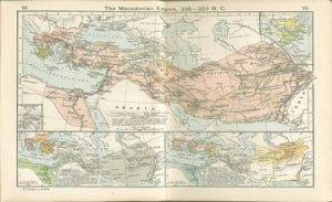Maps of Armenia During the Macedonian Empire