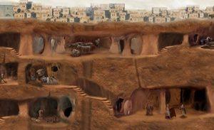 Ancient Belowground Cities of Cappadocia