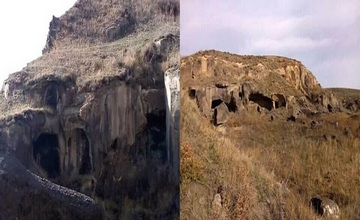 Ancient Underground City in Spitak - Once on the Caravan Route