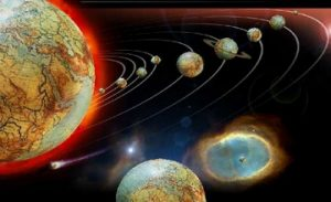 Old Observatory Karahunj - Planets. Heliocentric System