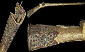 Jeweled Ceremonial Gun of Sultan Mahmud I