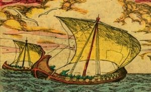 Herodotus – Armenian Ships Built with Twigs and Skin