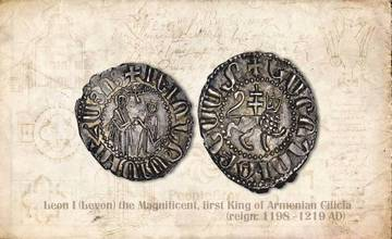 Video Compilation of Ancient Armenian Coins