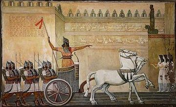 Menua, Ruler of the Kingdom of Van
