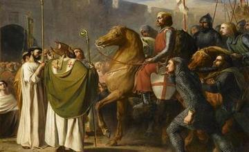 Crusaders Greeted in Armenia