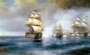 The Power of Wind in Paintings of Aivazovsky