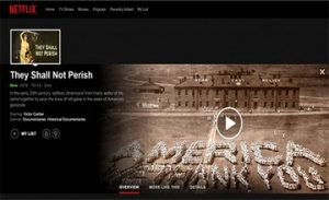 Documentary About the Armenian Genocide
