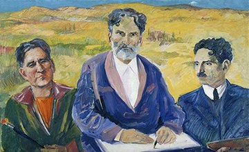 The Works of Martiros Saryan in Tretyakov Gallery