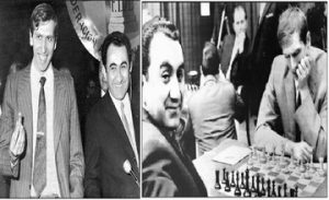 Robert Fischer's First Meeting with Tigran Petrosyan