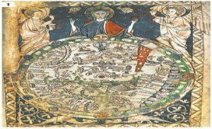 Armenia on Medieval Hand-Drawn Maps