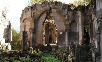 Monastery of Bardzrakash St. Gregory in Armenia