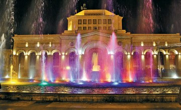 Yerevan – The Pond of Singing Fountains