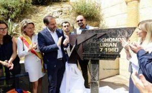 Monument to Soghomon Tehlirian