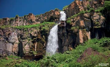 Rock Spring on Mount Aragats – Armenia