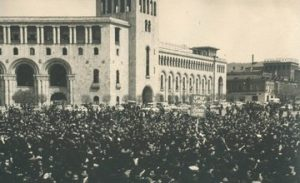 April 24, 1965 – Demonstration in Armenia