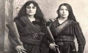 Two Armenian Women from Zeytun - 1885