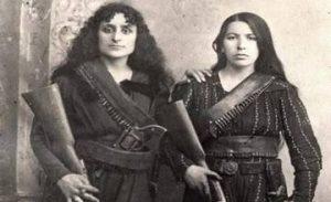 Two Armenian Women from Zeytun - 1885