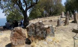 Desecration of an Armenian Cemetery on Akhtamar Island