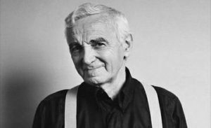 You are from Armenia, like Charles Aznavour