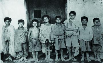 Erivan 1917 – Photo of Armenian Orphans