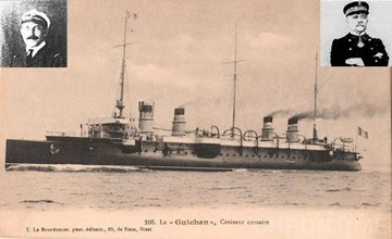 "The French Warship ""Guichen"""