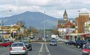 The City of Ararat in Australia