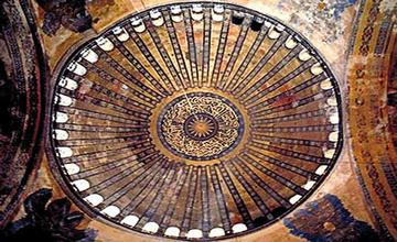 Restoration of Hagia Sophia's Dome