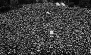Rallies in Yerevan in 1988