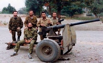 Detachment of Ossetians Arrived in Artsakh in 1992