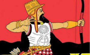 King Aram – Tamer of 7 Wild Horses