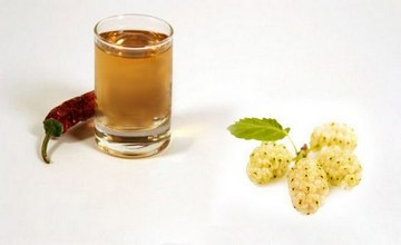 Mulberry Vodka with Pepper