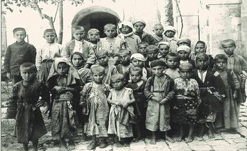 A Photo of Armenian Orphans Saved from the Desert
