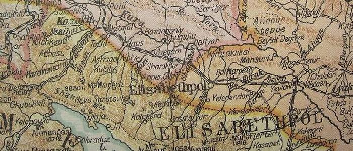 Armenia on the British World Map – 1919